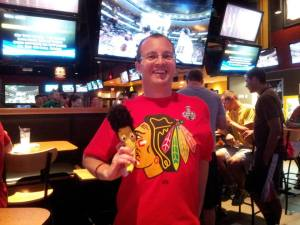 Blackhawks win the Cup Jim (and Lucky Banana)