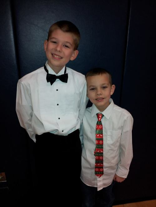 boys in ties