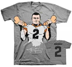 Also used my photoshop skills to make an adjustment to the new Johnny Football shirt. Not sure why this hasn't taken off yet, but dibs on the royalties.
